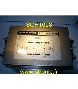 FILTRE SECTEUR  FN352Z- 10/03