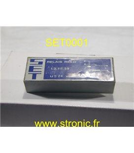 RELAIS REED 13.1B.59   24 V DC