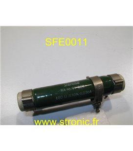 RESISTANCE 680 SFERNICE RA16.9463D