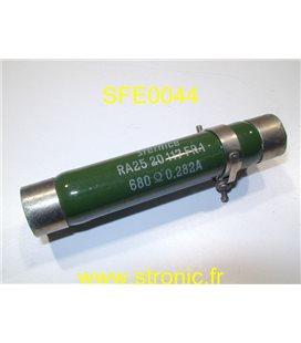 RESISTANCE SFERNICE 680 â 180W RA2520.117FR1