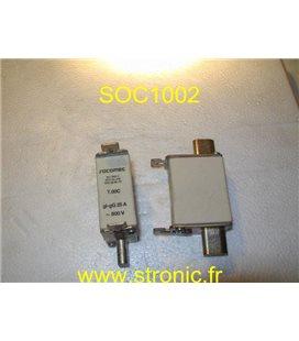 FUSIBLE COUTEAU T.00C  25A gl-gC  x3