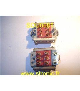 CONNECTEUR 6 POLES MALES 8140 020260