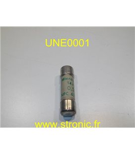 FUSIBLE UNELEC 63210  14x51  0.5A