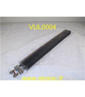 RESISTANCE A AILETTES 1000W 230V P4