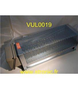 RADIATEUR INDUSTRIEL ACIER 2 kW  6008-02