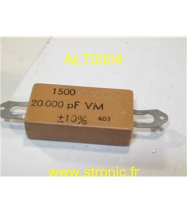 CONDENSATEUR MICA 20 nF 1500V CC