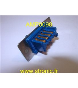 CONNECTEUR SERIE 26  MALE  8 CONTACTS 26-182