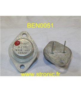 TRANSISTOR B-1181  Ge TO3