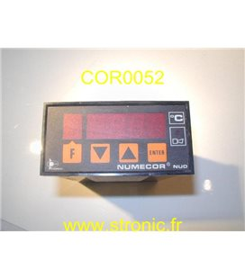 REGULATEUR TEMPERATURE NUMECOR NUD