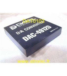 D/A CONVERTER    DAC-4912D
