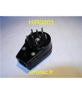 CONNECTEUR MALE MES 160  10 BROCHES