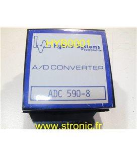 CONVERTER  A/D   ADC 590-8