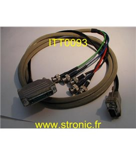 CABLE VIDEO  PHANTOM  DB-13W3S-K121