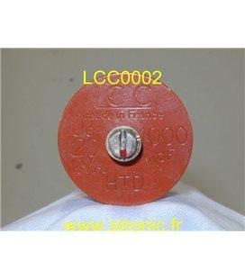 CONDENSATEUR T.H.T 1000pF 15kV LCC