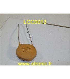 CONDENSATEUR CERAMIQUE  LCC W1000  6KV