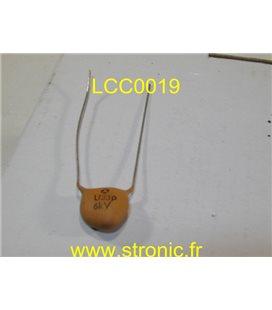 CONDENSATEUR  CERAMIQUE LCC U33  6KV