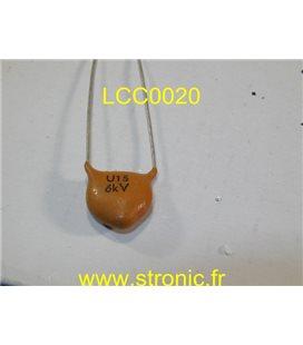 CONDENSATEUR CERAMIQUE  LCC U15  6KV