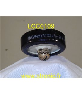 CONDENSATEUR LCC  DISC 4700pF 7.5kV