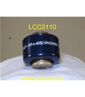 CONDENSATEUR LCC DISC 1000pF 3.5kV