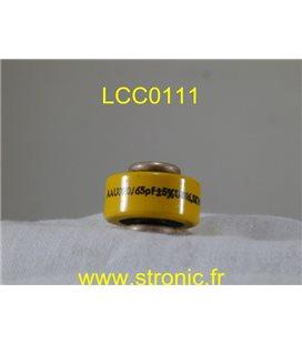 CONDENSATEUR LCC DISC 65pF 6.5kV