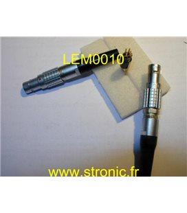 FICHE LEMO MALE 4 x  TAILLE 1B FGG.1B.304.CLAD62