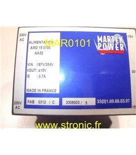 ALIMENTATION 220V/+-15V 700mA AMD 15 0700 AA32