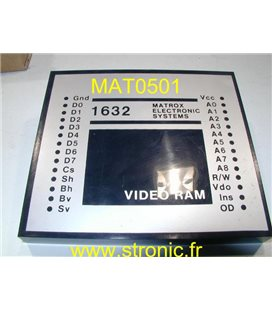 VIDEO RAM MTX-1632-BE
