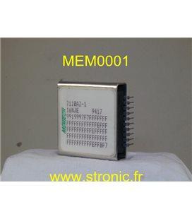 MEMOIRE A BULLE D 7110 AZ-1