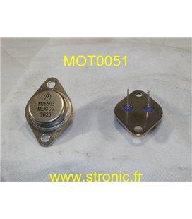 TRANSISTOR MJ6503 TO3 PNP 450V 8A 125W