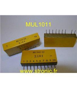 COMBI LOGIC B8 940 02     2.IA1