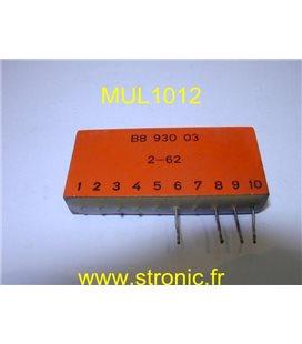 COMBI LOGIC B8 930 03    2-62