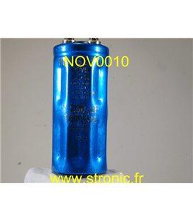 CONDENSATEUR ELECTROLYTIQUE 2200æF 160V CC