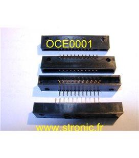 CONNECTEUR O.C.E PLAT MALES 11x CONTACTS