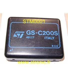 CONTROLEUR MOTEUR PAS A PAS GSC200S