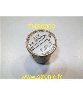BOUCHON 25W 200-500MHz POUR THRULINE