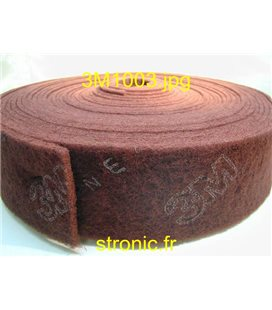 SCOTCH BRITE  ROULEAU A  VFN ROUGE CF-RL 125MM/25M