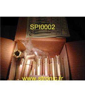CHEVILLE METAL SPIT ROC DOREES   SRD16     5106