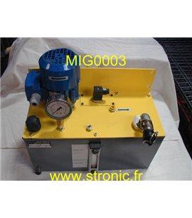 MOTO-POMPE POUR CIRCULATION D HUILE GR 1050/01
