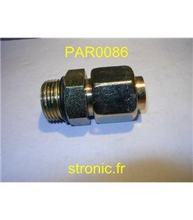 PIQUAGE DROIT MALE F5BXS20-1/16
