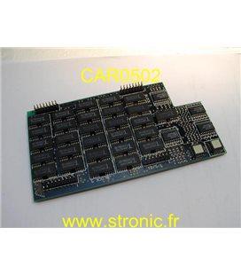 DRAM EXTENSION MEMOIRE PCB000005