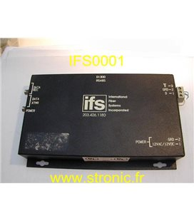 FIBER SYSTEM DIGITAL VIDEO RECEIVER 203.423.1180