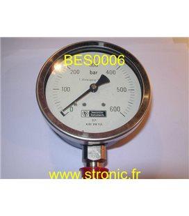 MANO FLONIC 600 BAR 630624 600 AISI 316 TI/L