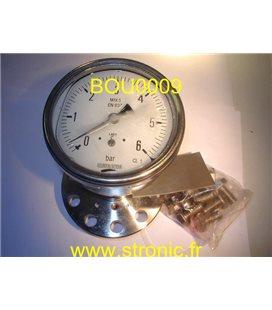MANOVACUOMETRE  6 BAR  DRO100/413.111.065