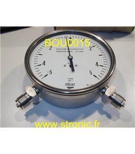 MANO- DIFFERENTIEL  -5 +5 BAR   MCX DF 150 D