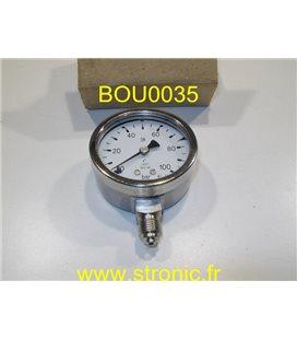 MANO 100 BAR MEX3 D20 B31 E8