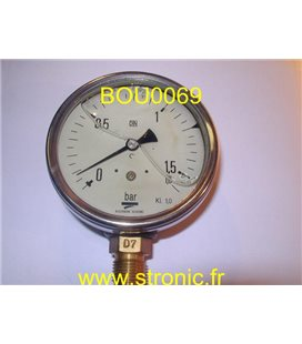 MANO 1.6 BAR MIT5 D32 B16  DIN  KL 1.0