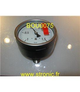 VACUOMETRE  -1 A 1.5 BAR MEX5 F30 B74