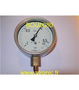 MANOVACUOMETRE -1 /+.6 BAR MMD5 D20 B72