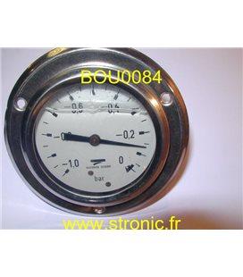 VACUOMETRE  -1 A 0 BAR MIT3 B22 B59