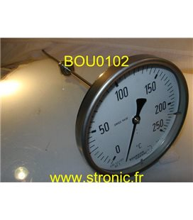 THERMOMETRE A CADRAN 0-250 øC  TBI 130/252.147